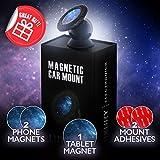Soporte Magnético Universal, 2018 Universal 360° De Rotación Movil Coche Teléfono Apoyo para iPhone X 8 7+ 7 6s, Samsung S8 S7 S7 edge Note 8 y los dispositivos