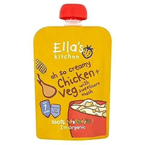 Ella's Kitchen Stage 2 from 7 Months Oh So Creamy