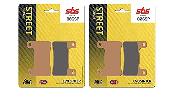 GSXR 750 K6 K7 K8 K9 L0 Front /& Rear Set Brake Pads SBS RACE SINTER RS//LS