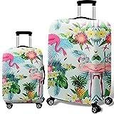 Informazioni sulla copertura bagagli:I bagagli da viaggio coprono la maggior parte dei principali marchi di bagaglio, rendono la valigia riconoscibile istantaneamente.Doppia cucitura in tutto, pieno di elasticità e alta elasticitá, assicura che la tu...