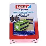 Tesa 55392-18 - Klettband Tesa schwarz 0,6 m x 20 mm