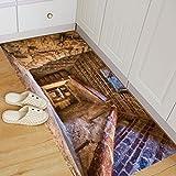 Moginp Wandaufkleber,Abnehmbare 3D Boden Aufkleber Wandbild Wohnzimmer Home Decor (C)