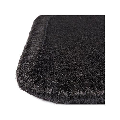DBS 1765687 Tapis Auto – Sur Mesure – Tapis de sol pour Voiture – 4 Pièces – Moquette noir 600g/m² – Gamme One Magasin en ligne