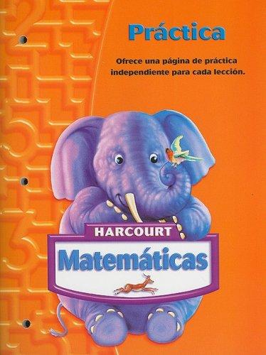 SPA-HARCOURT MATEMATICAS-GRD K (Matematicas 05)