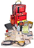 Erste Hilfe Notfallrucksack aus Plane für Baumarbeiten & Industrie mit