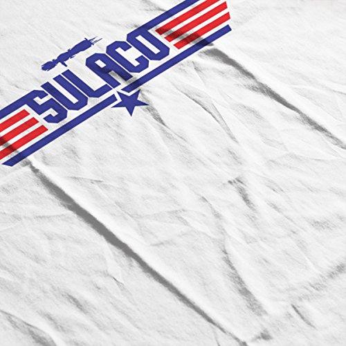 Sulaco Topgun Logo Aliens Men's T-Shirt White