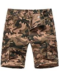 Pantalones y pantalones cortos PARVAL Pantalón de baño para Hombre Pantalones Cortos para Nadar Surf Troncales Cortos Pantalón de Playa de Secado rápido para Hombres Pantalones Cortos de Ocio de Verano Natación Pantalones