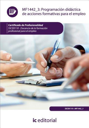 Programación didáctica de acciones formativas para el empleo. SSCE0110 por Isabel María Márquez Pérez