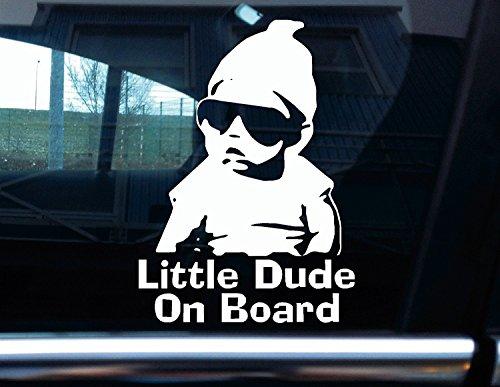 "Vinyl-Aufkleber \""Little Dude On Board\"" - Carlos von \""The Hangover\"""
