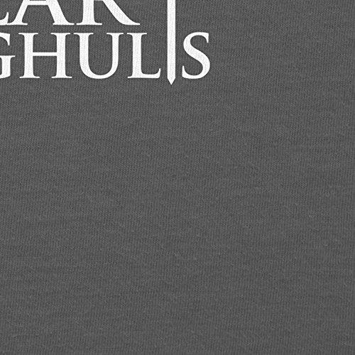 TEXLAB - GoT: Valar Morghulis - Herren Kapuzenpullover Grau