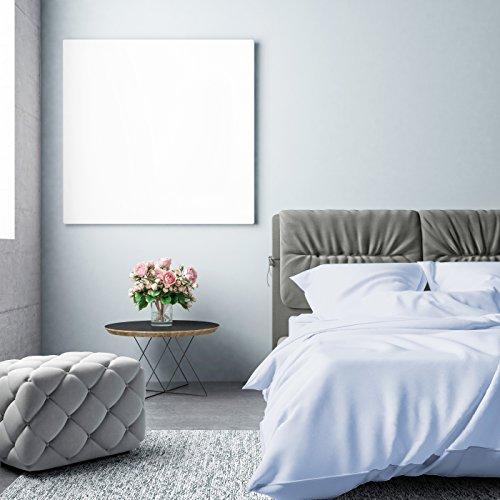 Pingouin Home 500 Fils 100% Lot de 2 Standard Taille Taies d'oreiller 50 x 75 cm, Coton, Bleu, complète