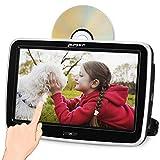 """Pumpkin Reproductor DVD Coche - 10.1"""" 1080P HD Pantalla Táctil Completa, Reproductor DVD HDMI para Resposacabezas de Coche soporta USB/SD/DVD/CD / 1080P Video/AV-IN/AV-out"""