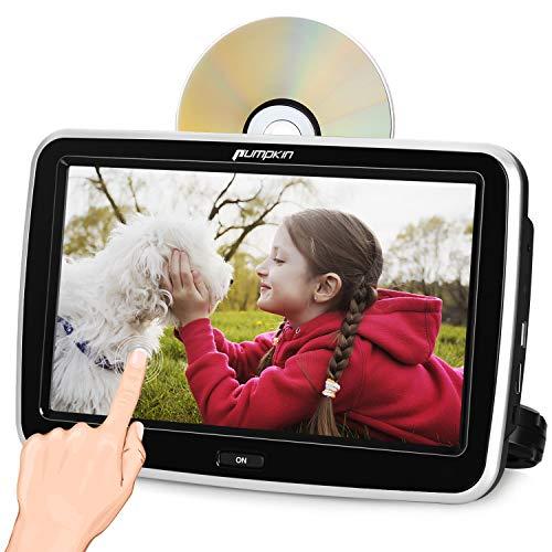 "Pumpkin Reproductor DVD Coche - 10.1"" 1080P HD Pantalla"