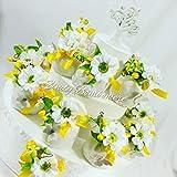 Torta bomboniera con sacchettini per cresima Comunione Anniversario Matrimonio Albero della Vita sposi (Centrale confezionato a Parte)