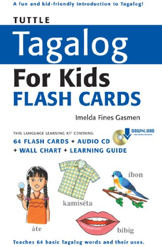 Tuttle Tagalog for Kids Flash Cards Kit Ebook: (Includes 64 Flash ...
