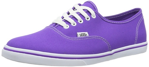Vans U Authentic Lo Pro, Baskets mode mixte adulte Violet - Violett ((Neon) electric)