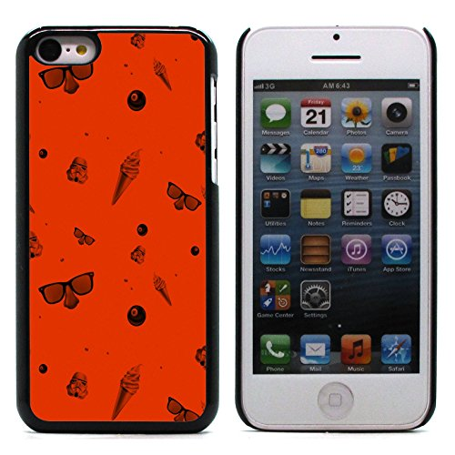Graphic4You GLITCHY Muster Harte Hülle Case Tasche Schutzhülle für Apple iPhone 5C Design #16