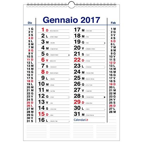 Calendario 2017 OLANDESE da muro