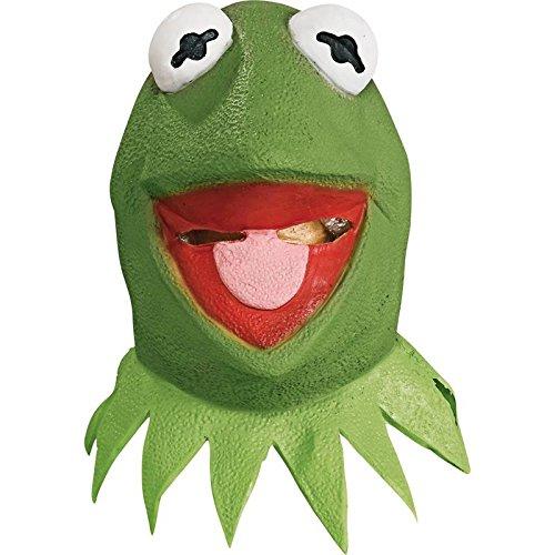 Générique MA1411–Maske Integralhelm Latex Kermit der (Maske Kermit)