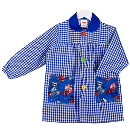 KLOTTZ 4867-SPIDERMAN-AZUL-3 - BABI SPIDERMAN MANDILON