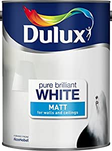 Dulux Matt Paint, 5 L - Pure Brilliant White