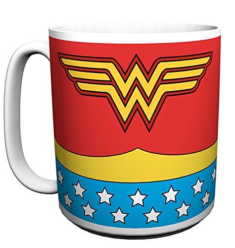 Wonder Woman Kostüm - Große Tasse Tasse weiß (Wonder Woman Film Kostüm)