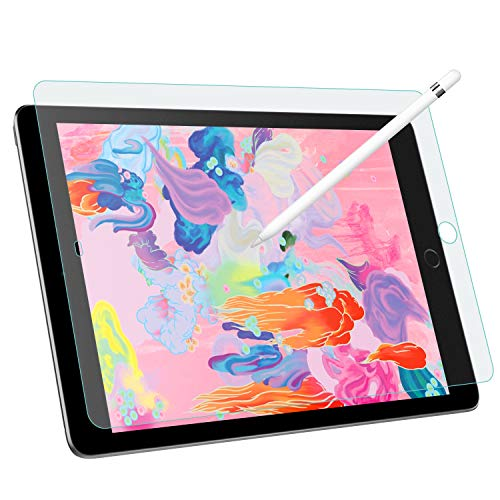 MoKo Schutzfolie für iPad 9.7 2018 / iPad Pro 9.7 2016, Matt Bildschirmschutzfolie wie Papier Blasenfrei Folie für iPad 9.7 2018 / iPad Pro 9.7 2016 - Transparent