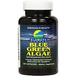 Alga Klamath, American Health , 120 Capsulas