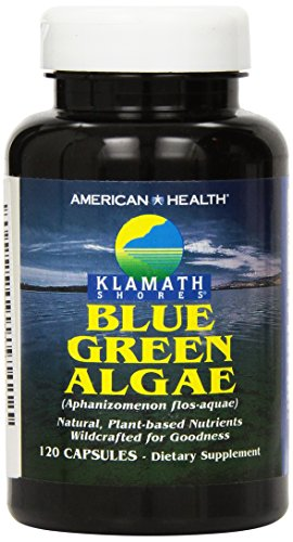 American Health Klamath Shores Blue-Green Algae, 120 Capsules