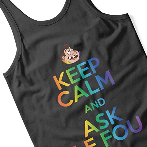 Keep Calm And Ask Le Fou Beasuty And The Beast Pride Men's Vest Black