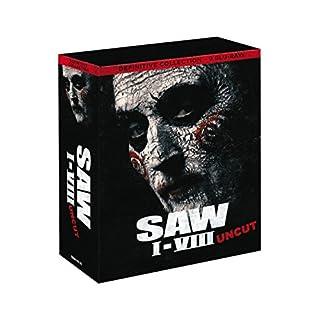 BLU-RAY Box - SAW 01 - 08 inkl. Jigsaw (Uncut) 9 Disc Blu-ray