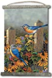 wgi Galerie wc-lbb-1825 Linda 's Bluebirds Leinwand Wall Scroll