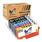 Tintenpatronen 364XL Kompatible für HP Photosmart 5510 5520 Deskjet 3070a Officejet 4620 4622 4610 5-Pack (1Schwarz/1Foto schwarz/1Cyan1/Magenta/1Gelb)
