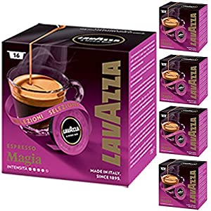 Buy Lavazza A Modo Mio Espresso Selezioni Magia 16 Coffee Machine Capsules (Pack of 5) from Luigi Lavazza S.p.A.