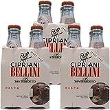 3x Cipriani 'Bellini' aus püriertem Pfirsichfruchtfleisch, 4x 180 ml