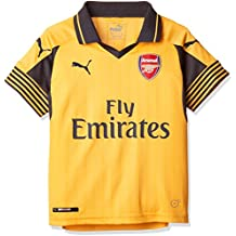 Puma Chico del Arsenal Away 16-17 réplica Camiseta de fútbol Amarillo Spec Yellow Talla
