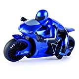 Kinder Elektromotorrad, ferngesteuertes Motorrad, 2.4GHz 1:18 Modell, Ready-To-Drive, Inkl. Fernsteuerung, Akku und Ladegerät