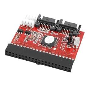 Deux sens Parallèle 40P IDE vers SATA pour disque dur HDD Adaptateur hôte