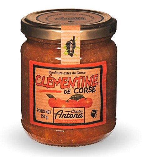 Charles Antona - Konfitüre mit Clementinen (Clémentine de Corse) 250 g