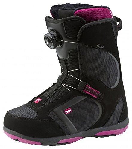 adidas Damen Jade Boa D Schneestiefel, (Schwarz), 40 EU