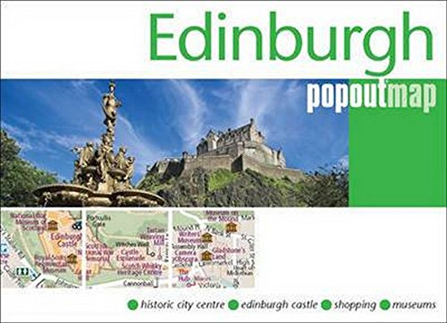 Edinburgh PopOut Map Cover Image