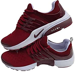 Nike Air Presto Rouge-Blanc-Taille Baskets pour homme Pointure Shox chaussures: Amazon.fr