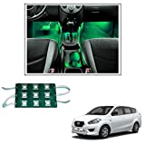 #8: Vheelocityin 9 LED Custom Cuttable Bike/ Car Green Light for Interior/ Exterior For Datsun Go