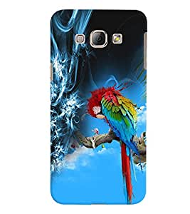 GADGET LOOKS PRINTED BACK COVER FOR SAMSUNG GALAXY A8 MULTICOLOUR