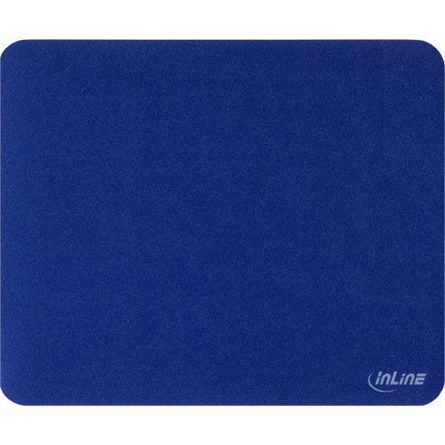 3 Stück InLine ® Maus-Pad Laser, ultradünn, blau, 220x180x0,4mm - Blau-laser-maus