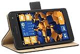 mumbi Tasche im Bookstyle für Microsoft Lumia 535 Tasche