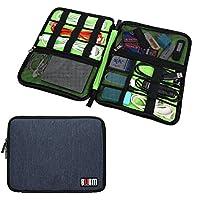 BUBM Universale cavo Organizzatore Elettronica Accessori Custodia USB drive Shuttle/sanitario e Grooming Kit