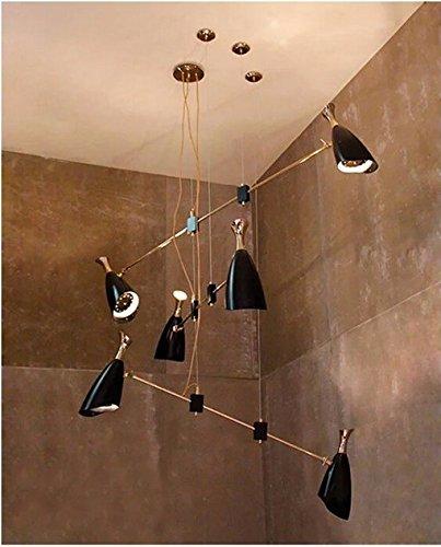 GOWE moderno minimalista Moda lámpara comidas candelabros