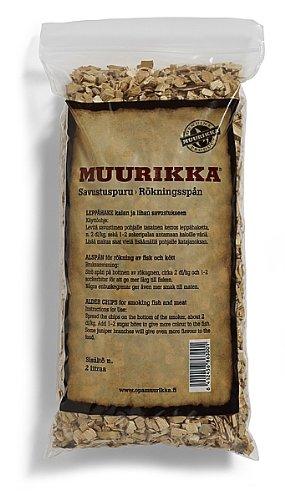 51uZFu9dCBL - Muurikka to6863Smoking Chips von Erle, 2l, Beige, 30x 30x 30cm