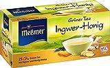 Messmer Grüner Tee Ingwer-Honig 25 Beutel, 6er Pack (6 x 44 g)